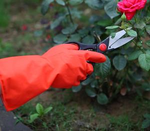 FE406 外红内白工业乳胶手套