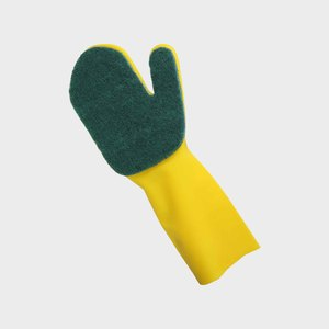 No.11 Single-layer scouring pad cleaning glove