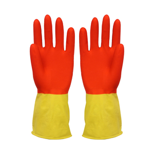 FE202 Bi-color household latex glove