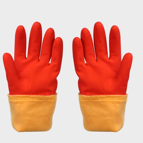 FE-NO.6018 Warm Rubber Gloves